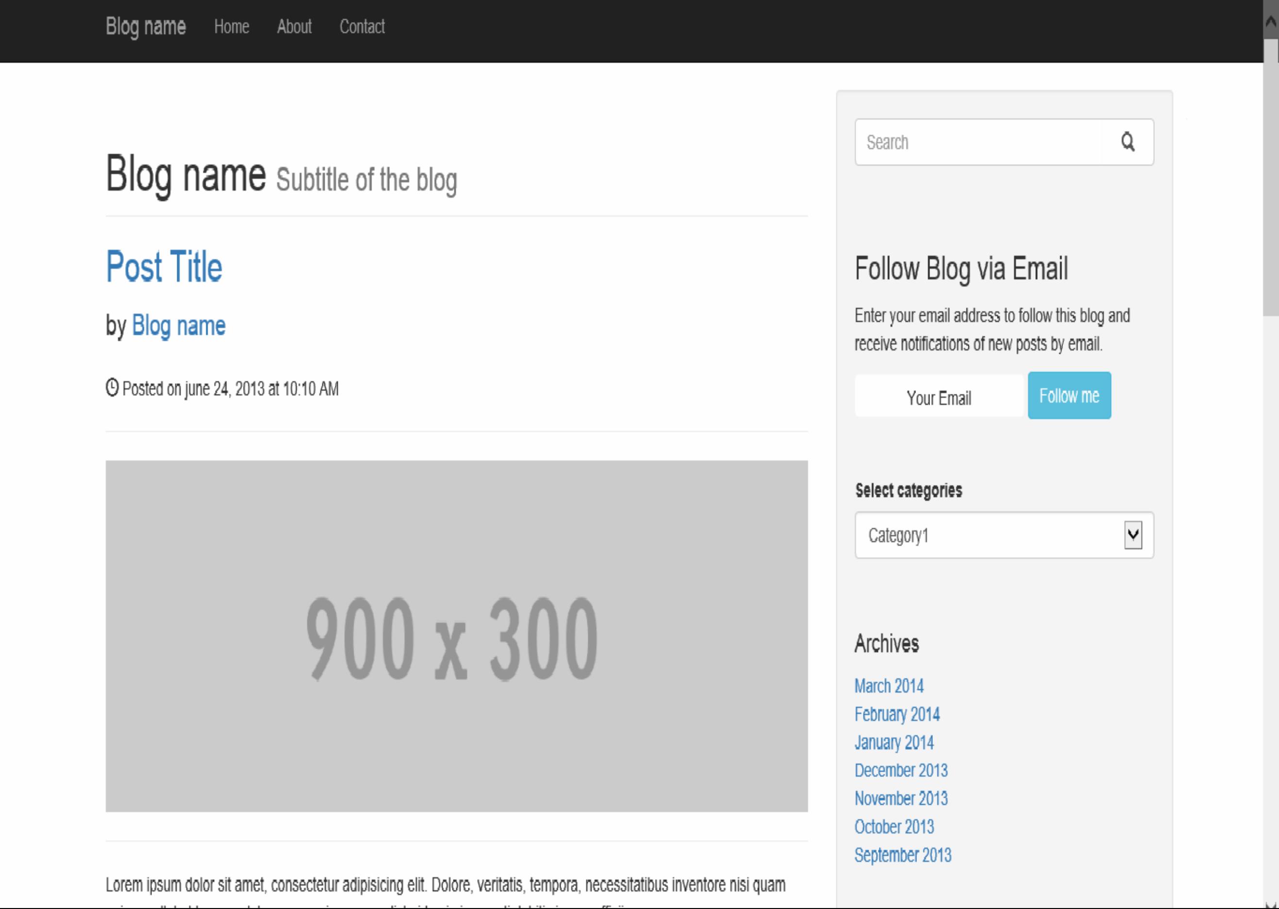 Side navigation bar bootstrap phpsourcecodenet for Html side menu bar template